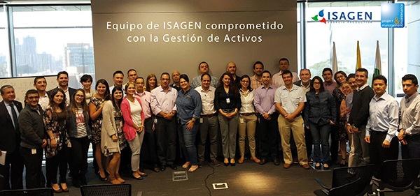 Equipo de ISAGEN comprometido con la Gestión de Activos