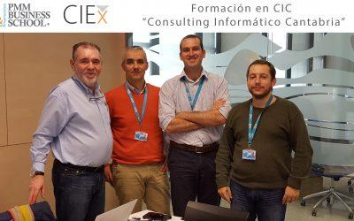 """PMM imparte formación en la CIC """"Consulting Informático Cantabria"""" es una empresa de ingeniería y desarrollo de proyectos de informática y comunicaciones"""" en Implementación de Gestión de Activo (ISO 55002) en el sector de Energia & Utilities"""