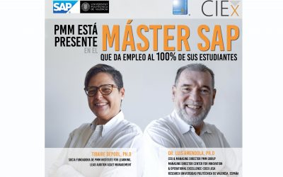 PMM INSTITUTE FOR LEARNING EN COLABORACIÓN CON LA UNIVERSIDAD POLITÉCNICA DE VALENCIA ESTARÁ PRESENTE EN EL MÁSTER SAP