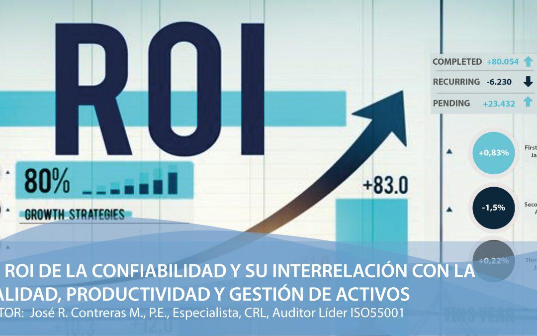 El ROI de la Confiabilidad y su interrelación con la Calidad, Productividad y Gestión de Activos